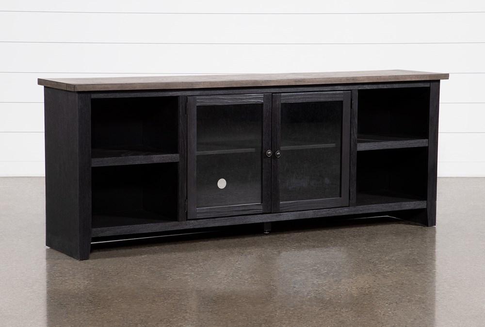 Dixon Black 84 Inch TV Stand