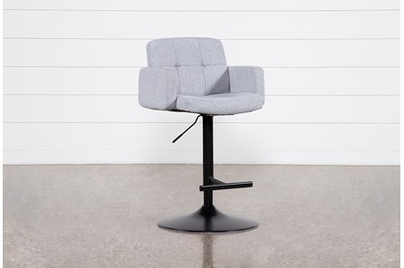 Annya Grey 31 Inch Adjustable Bar Stool