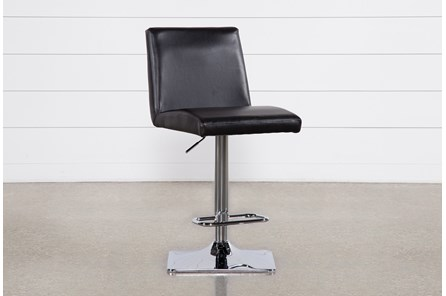 Angelo Black 33 Inch Adjustable Bar Stool