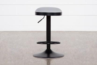 Astounding Aria Grey 33 Inch Adjustable Bar Stool Ibusinesslaw Wood Chair Design Ideas Ibusinesslaworg
