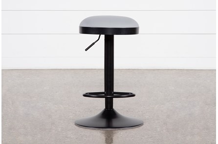 Aria Grey 33 Inch Adjustable Bar Stool