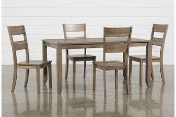 Matias Brown 5 Piece Dining Set