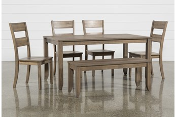 Matias Brown 6 Piece Dining Set