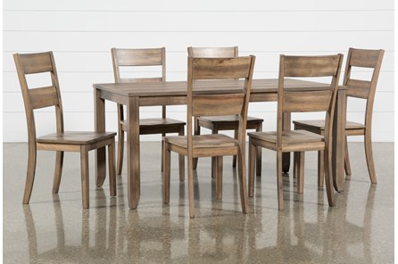 Matias Brown 7 Piece Dining Set