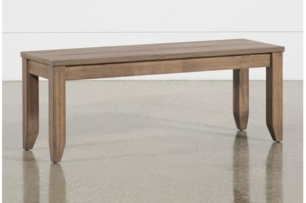 Matias Brown Dining Bench