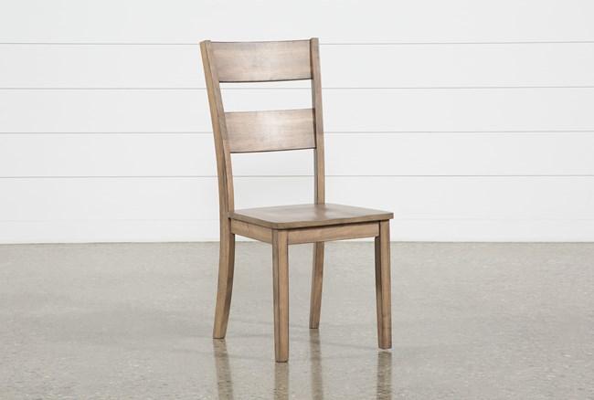 Matias Brown Side Chair - 360