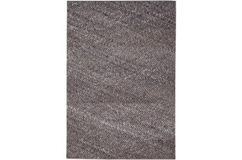 96X120 Rug-Woven Knit Wool Taupe/Mocha