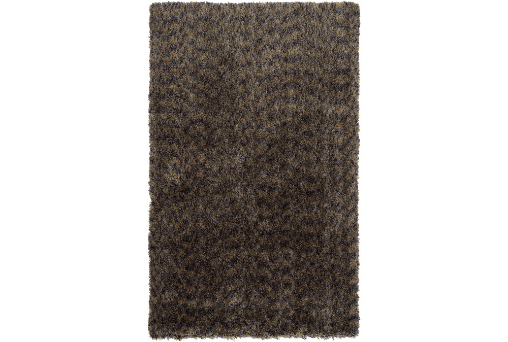 """7'2""""x10' Rug-Tonal Shag Grey"""