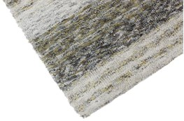 108X156 Rug-Plush Shag Striations Taupe