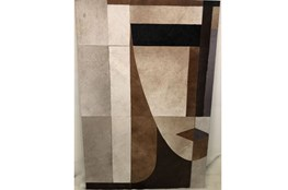 Picture-Vogue Patchwork Hide Brown 34X51