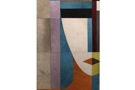 Picture-Vogue II Patchwork Hide Multi 34X51