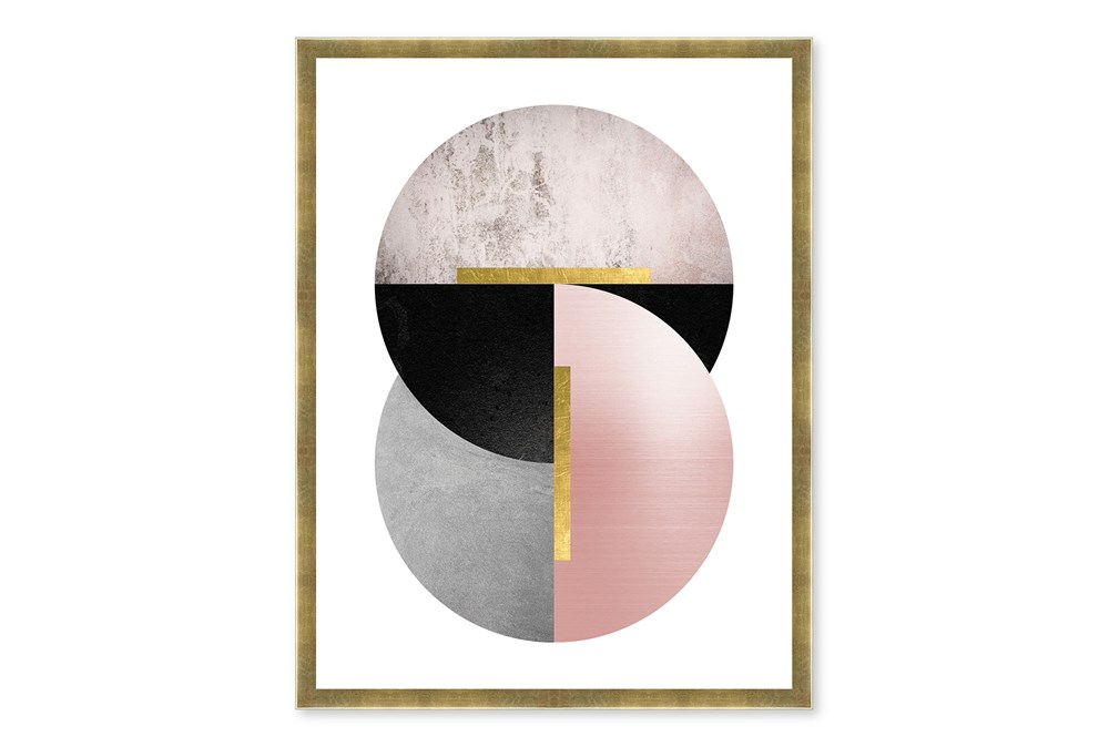 Picture-Art Circles Shadowbox 19X26