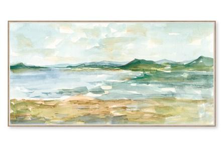 Picture-Wonder Scape Embellished Canvas 41X21