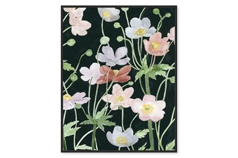 Picture-Flower Dance Embellished Canvas 23X29