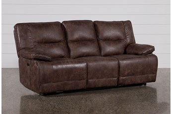 Alejandro Power Reclining Sofa With Power Headrest And Usb