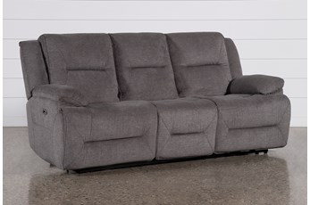 "Jillian 88"" Power Reclining Sofa With Usb"