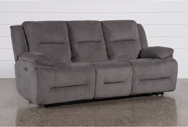 "Jillian 88"" Power Reclining Sofa With Usb - 360"