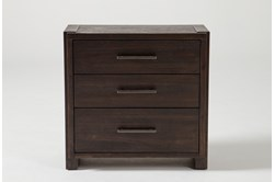 "Teagan 3-Drawer 30"" Nightstand With USB"