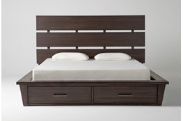 Teagan California King Panel Bed With Storage