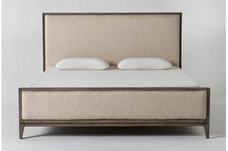 Colette Upholstered California King Panel Bed