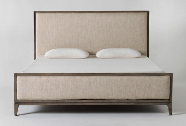 Colette Upholstered California King Panel Bed - 360