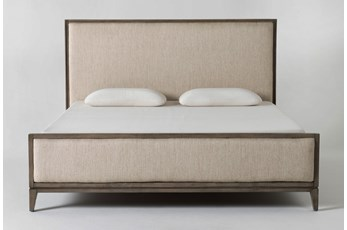 Colette Upholstered Eastern King Panel Bed
