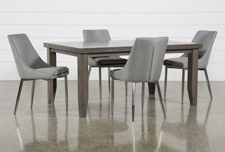 Ashford II 5 Piece Dining Set With Bowery II Chairs - Main