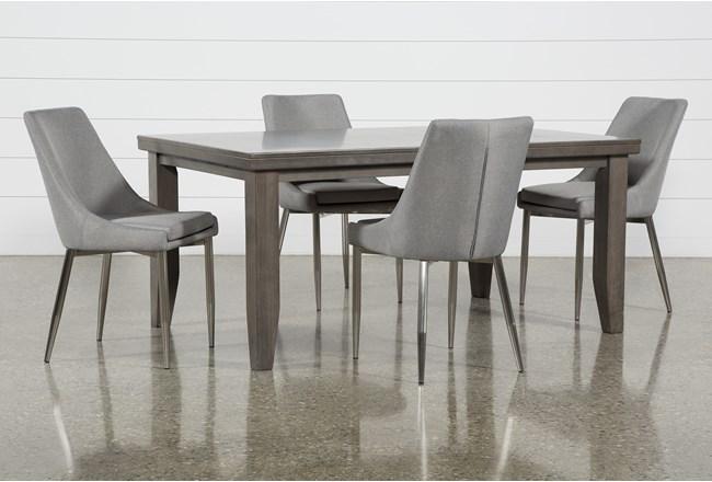 Ashford II 5 Piece Dining Set With Bowery II Chairs - 360