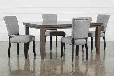 Ashford II 5 Piece Dining Set With Kuna Chairs