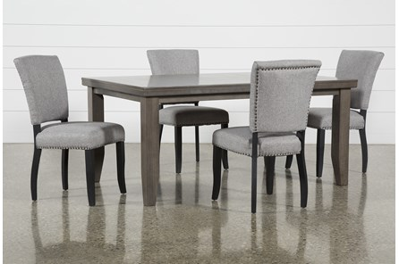 Ashford II 5 Piece Dining Set With Kuna Chairs