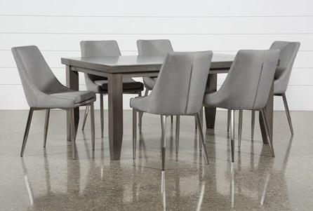 Ashford II 7 Piece Dining Set With Bowery II Chairs - Main