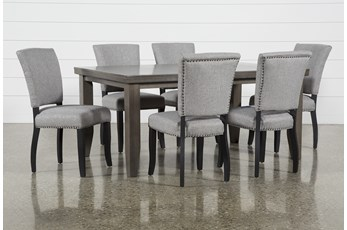 Ashford II 7 Piece Dining Set With Kuna Chairs