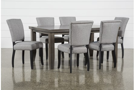 Ashford II 7 Piece Dining Set With Kuna Chairs