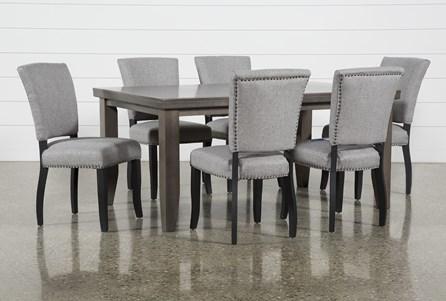 Ashford II 7 Piece Dining Set With Kuna Chairs - Main