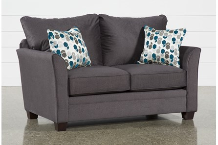 Julisa Grey Loveseat