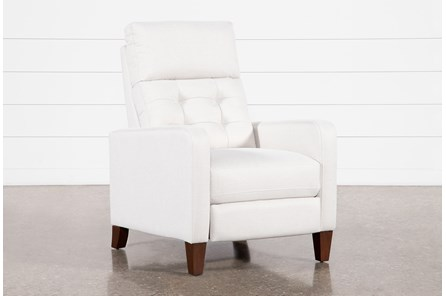 Darnell Linen Push-Back Recliner