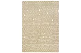 46X65 Rug-Zion Pattern Taupe Plush Pile