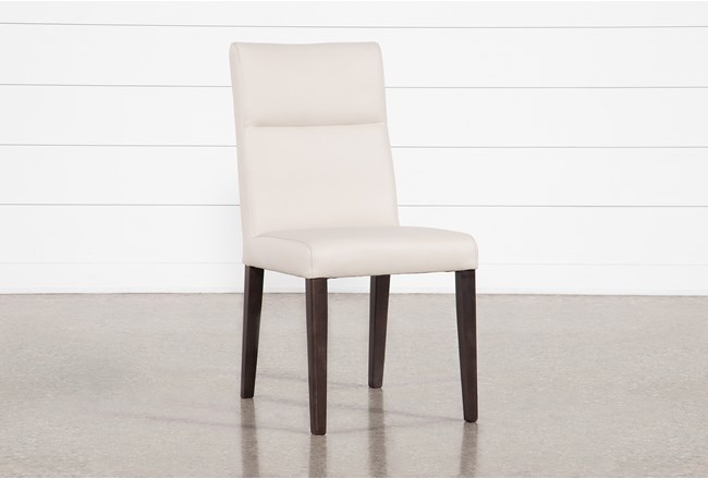 Destin Leather Dining Side Chair - 360