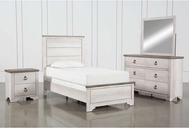 Cassie Twin 4 Piece Bedroom Set - 360
