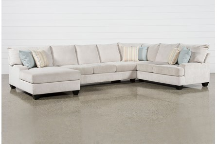 Harper Foam II 3 Piece Sectional With Left Arm Facing Chaise
