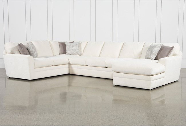 Prestige Down 3 Piece Sectional With Right Arm Facing Chaise - 360