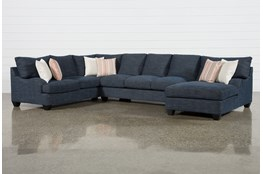 Sierra Down III 3 Piece Sectional With Right Arm Facing Chaise