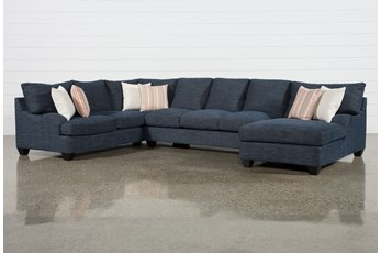 "Sierra Down III 3 Piece 157"" Sectional With Right Arm Facing Chaise"
