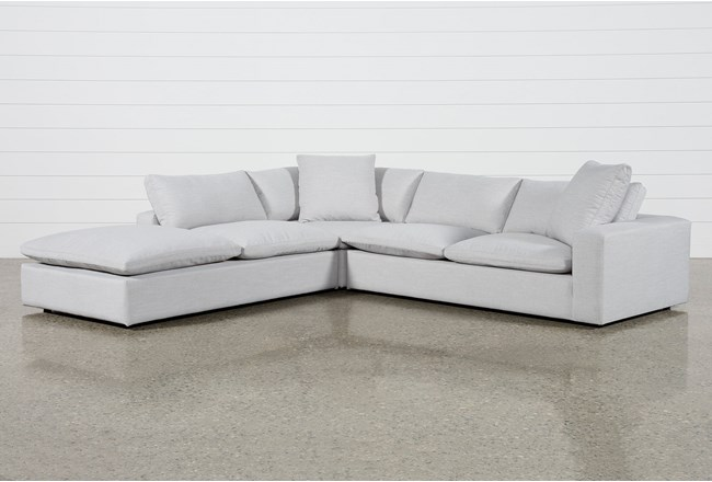Utopia 3 Piece Sectional With Left Facing Bumper Chaise - 360