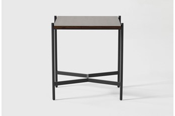 Alpine Square End Table