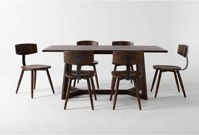 Cleve 7 Piece Rectangle Dining Set - 360