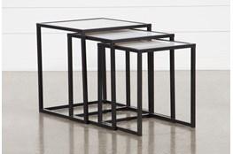 Vida 3 Piece Set Nesting End Tables