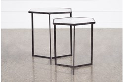 Freya 2 Piece Set Nesting End Tables