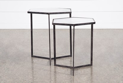 Freya 2 Piece Set Nesting End Tables Living Spaces