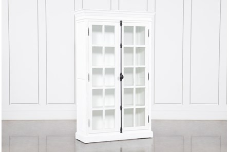 Simon Antique White Curio